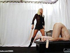 آزمون دانلود فیلم سکس باکیفیت بالا با نوبه خود یک دورگه و یک زن سیاه و سفید.