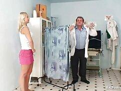 دکتر به لمس یک پرش از طریق مهبل (واژن) در فیلم سکسی خارجی با کیفیت اندام بیمار در بخش
